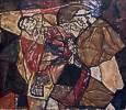 Egon Schiele (1890 - 1918) Agonie, 1912