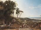 Franz Ludwig Catel (1778 - 1856) Aussicht von Ariccia gegen das Meer, um 1821/25