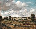 John Constable (1776 - 1837) Blick von East Bergholt auf Dedham Vale, um 1815