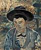 Henri de Toulouse-Lautrec (1864 - 1901) Der junge Routy auf Schloss Céleyran, 1882