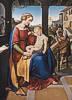 Friedrich Wilhelm von Schadow (1788 - 1862) Die Heilige Familie unter dem Portikus, 1818