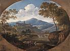 Johann Georg von Dillis (1759 - 1841) Grottaferrata bei Rom