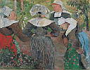 Paul Gauguin (1848 - 1903) Bretonische Bäuerinnen, 1896