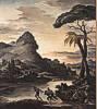 Théodore Géricault (1791 - 1824) Heroische Landschaft mit Fischern, 1818
