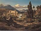 Ernst Fries (1801 - 1833) Wasserfälle des Liris bei Isola di Sora, 1830