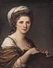 Angelika Kauffmann (1741 - 1807) Selbstbildnis 1784
