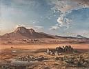 Carl Rottmann (1797 - 1850) Korinth mit Akrokorinth, 1847