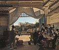 Franz Ludwig Catel (1778 - 1856) Kronprinz Ludwig in der Spanischen Weinschänke zu Rom, 1824