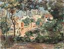 Pierre-Auguste Renoir (1841 - 1919) Die Gärten von Montmartre mit Blick auf Sacré-Coeur im Bau, 1896