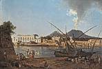 Joseph Rebell (1787 - 1828) Die Mole von Portici, 1818