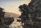 Camille Corot (1796 - 1875) Landschaft bei Riva am Gardasee, 1835