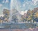 Theo van Rysselberghe (1862 - 1926) Springbrunnen im Park von Sanssouci bei Potsdam, 1903