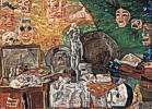 James Sidney Ensor (1860 - 1949) Stillleben im Atelier, 1889