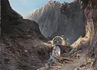 Carl Blechen (1798 - 1840) Bau der Teufelsbrücke, um 1830/32