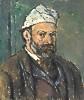 Paul Cézanne (1839 - 1906) Selbstbildnis, um 1878/80