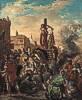 Eugène Delacroix (1798 - 1863) Clorinde befreit Olindo und Sophronia, 1856