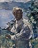 Lovis Corinth (1858 - 1925) Selbstbildnis, 1924