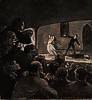 Honoré Daumier (1808 - 1879) Das Drama, gegen 1860