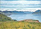 Ferdinand Hodler (1853 - 1918) Landschaft am Genfer See, um 1906