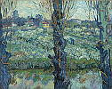 Vincent van Gogh (1853 - 1890) Blick auf Arles, 1889