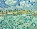 Vincent van Gogh (1853 - 1890) Ebene bei Auvers, 1890