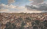 Johann Christian Reinhart (1761 - 1847) Blick von der Villa Malta in Rom nach Süden, 1834