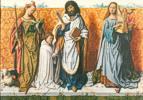 Meister des Bartholomäusaltars (1475 - 1510) Bartholomäusaltar: Die hll. Agnes, Bartholomäus, Caecilia und ein Stifter 1500/05