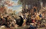 Peter Paul Rubens (1577 - 1640) Der bethlehemitische Kindermord, um 1636/38