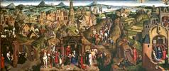 Hans Memling (1435 - 1494) Die Sieben Freuden Mariens 1480