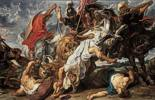 Peter Paul Rubens (1577 - 1640) Löwenjagd 1621