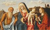 Giovanni Battista Cima da Conegliano (1460 - 1518) Maria mit dem Kind, den Hl. Maria Magdalena und Hieronymus, um 1495