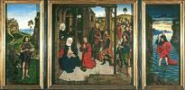 Dieric Bouts d. ä. (1410 - 1475) Flügelaltar Perle von Brabant, um 1465