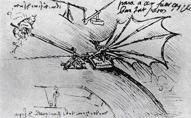 Leonardos Flügel