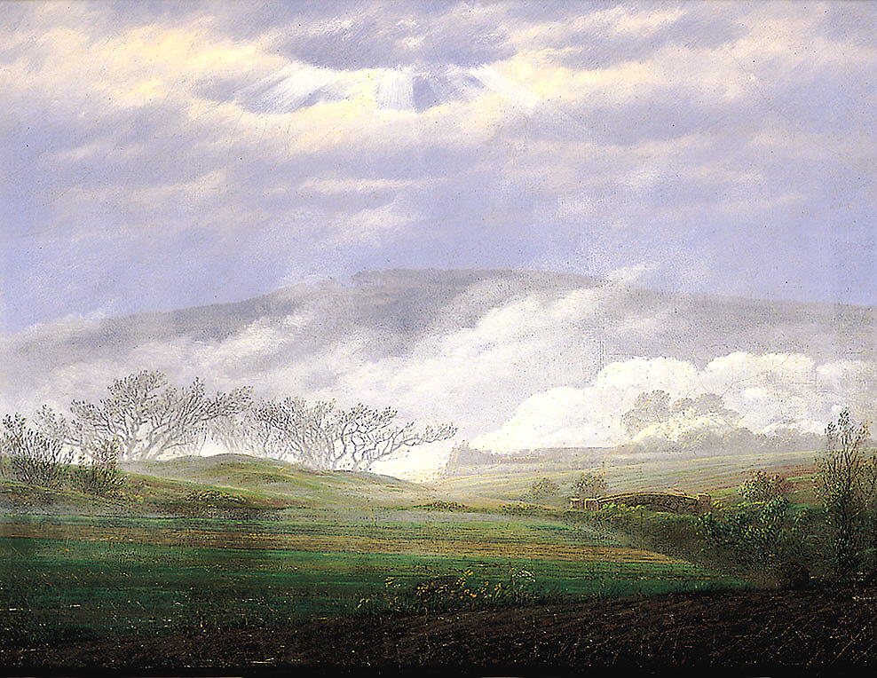 Landschaftsmalerei barock  Perspektive II und Raumgefühl