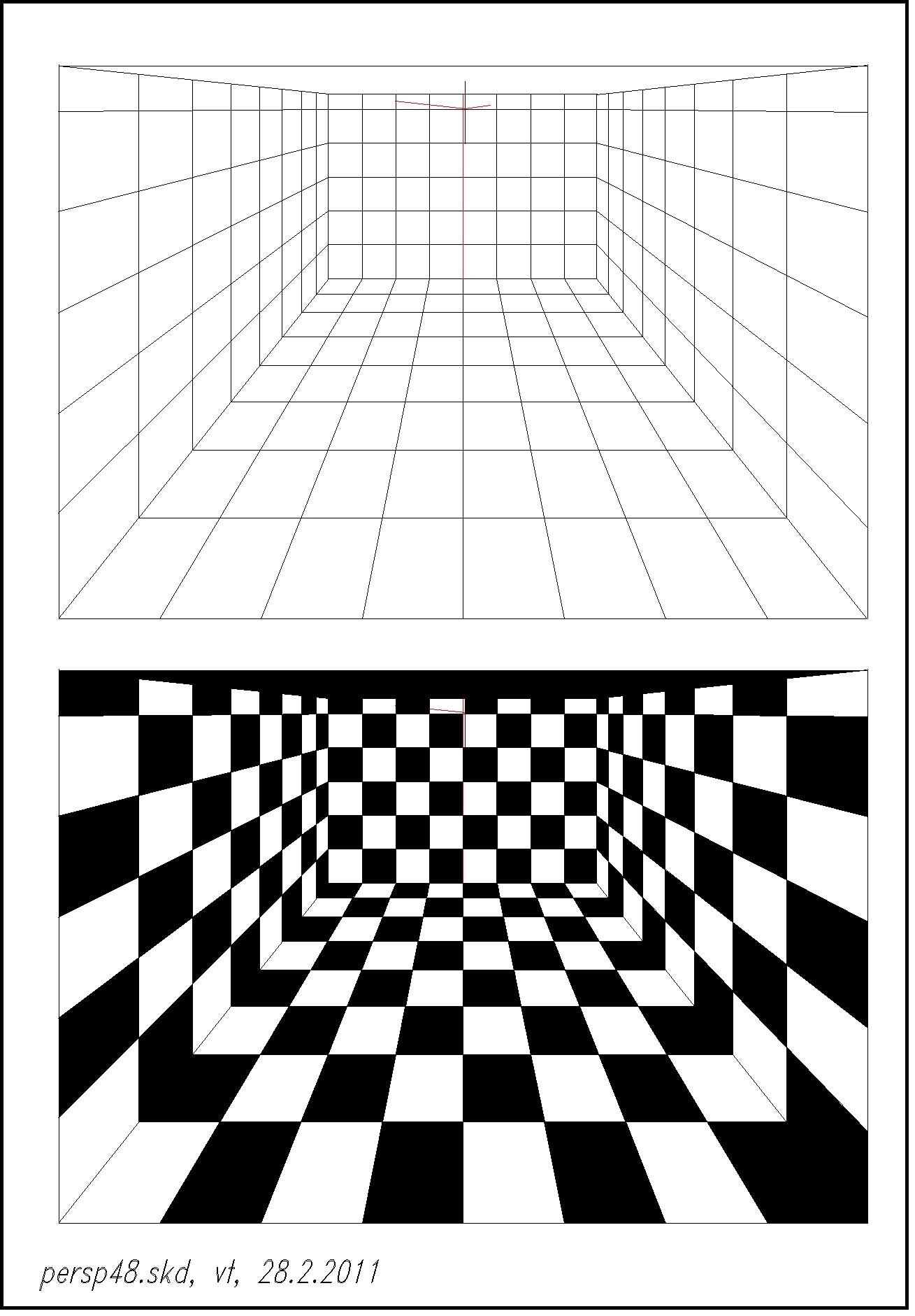 Perspektive 6 und Expressionismus