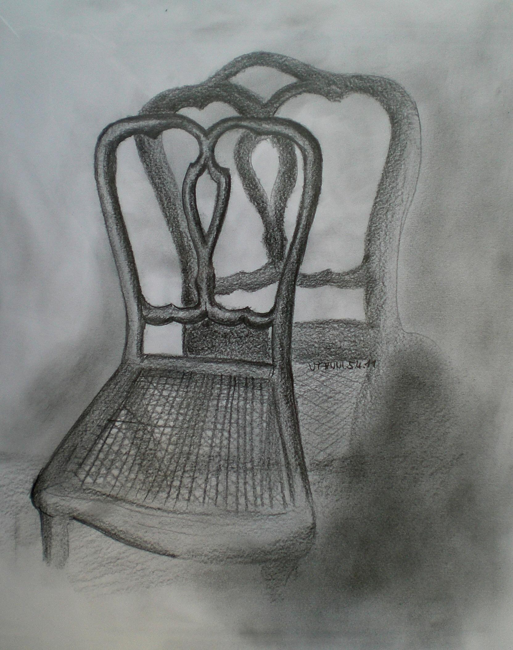 Stuhl Bleistiftzeichnung ~ Bild Schatten19jpg  die Bleistiftzeichnung davon, noch einmal